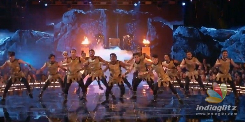 The Kings perform to Pawan Kalyans song @ World Of Dance