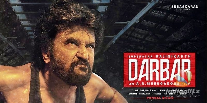 Darbar: Motion Poster with theme music to be out
