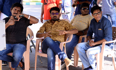 'Darshakudu' On Location