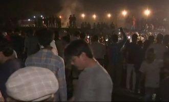 Dasara tragedy: 50 people dead as train runs over!