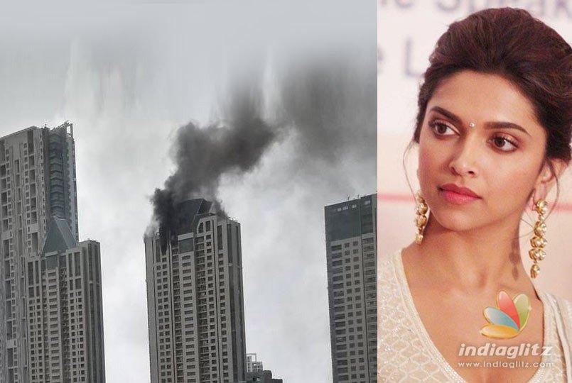 Breaking! Fire accident in Deepika Padukones building