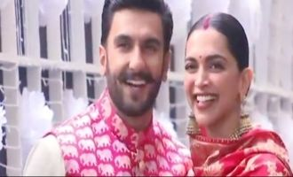 Deepika, Ranveer arrive in Mumbai amid tight security