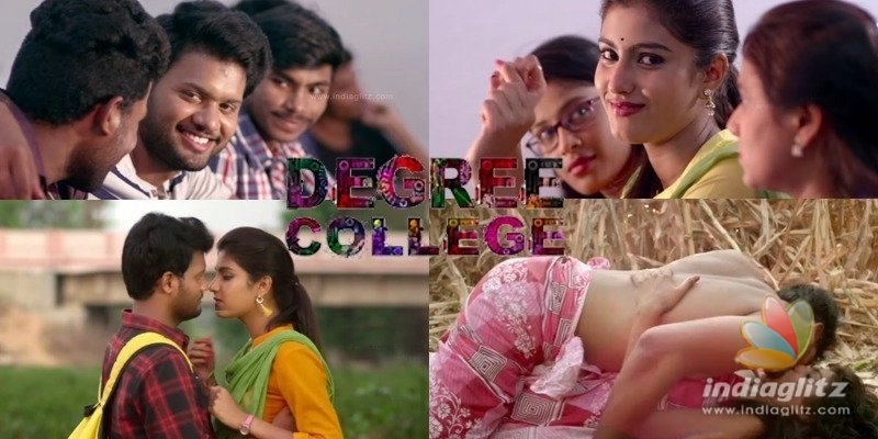 Ultimate romance in Degree College trailer