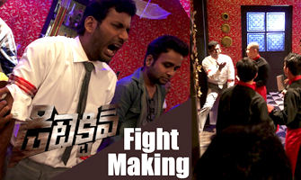 Vishal's Detective fight making