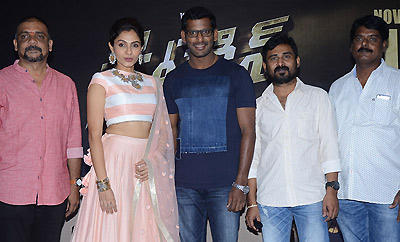Vishal's 'Detective' Press Meet