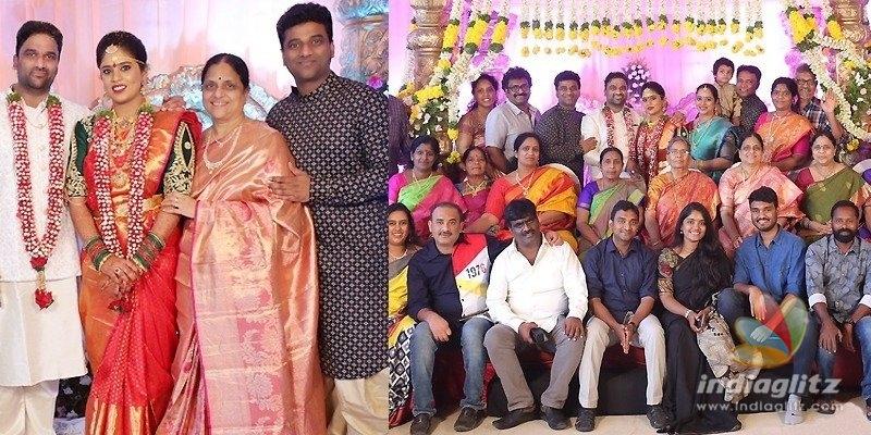 DSPs brother Sagar gets married