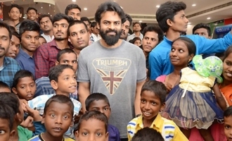 Sai Dharam Tej Arranged Special Show Of 'Avengers' For Orphan Kids