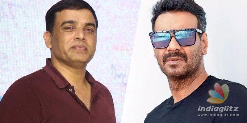 Dil Raju, Ajay Devgn announce Hindi remake of Naandhi