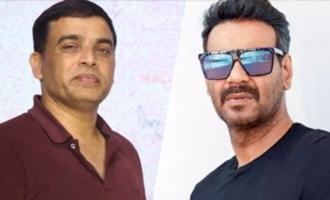 Dil Raju, Ajay Devgn announce Hindi remake of 'Naandhi'