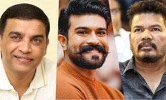 Dil Raju opens counter in Chennai for Ram Charan-Shankar film