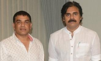 Dil Raju, others call on Pawan Kalyan