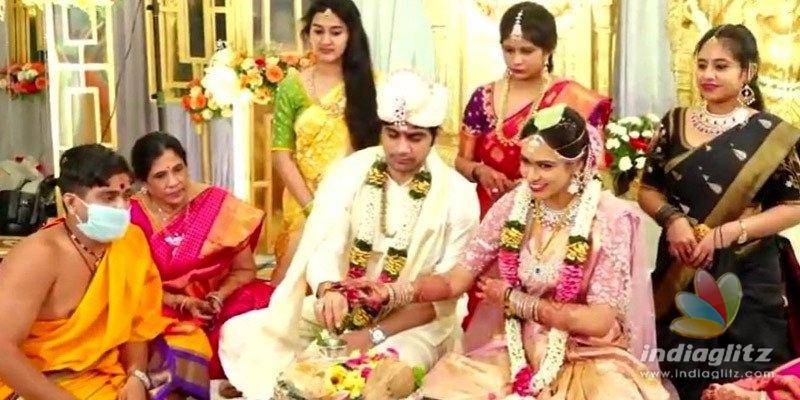 Saaho director Sujeeth marries Pravallika