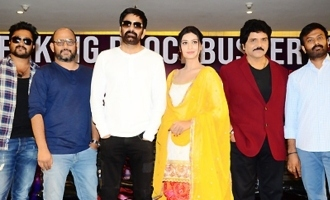 'Disco Raja' Success Meet