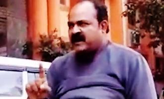 Doctor creates hulchul holding petrol bottle at Gandhi Hospital