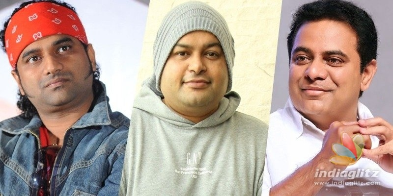 DSP, Thaman respond to KTRs attention-drawing post
