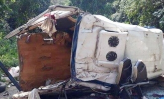 Eight die as bus falls into gorge in East Godavari