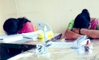 No voters Officers sleeping at polling booth