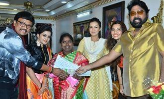 Ex MLA Venkata Rao felicitates Singer Baby