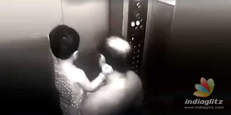 Hyd: Father-daughter duo experience hell as lift gets stuck