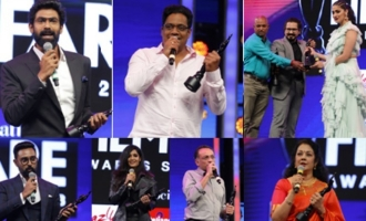 Filmfare Awards South's winners dazzle at event