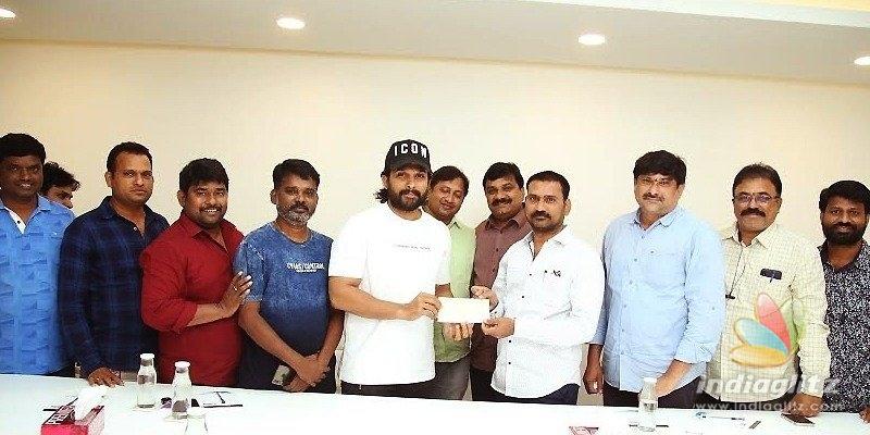 Allu Arjun appreciates Film Newscasters Association, donates Rs 10 lakh