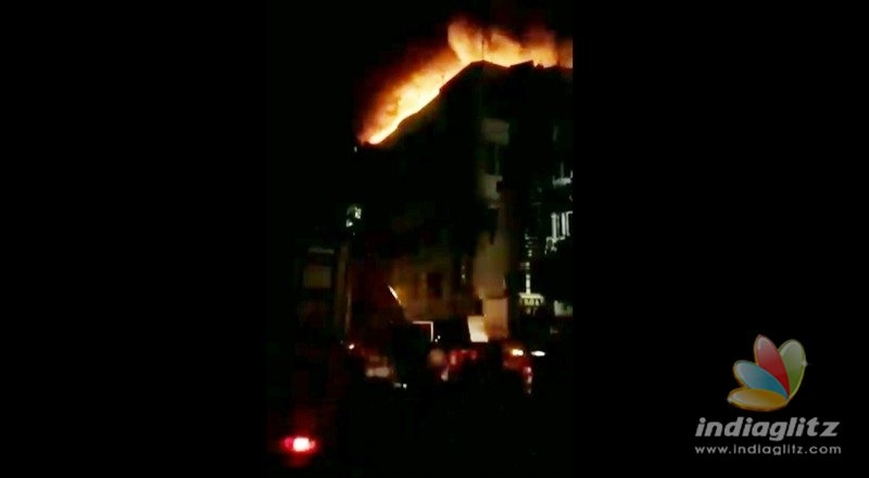 Hotel fire: Closed emergency exit doors to blame