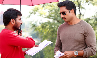 'Gautham Nanda' On Location