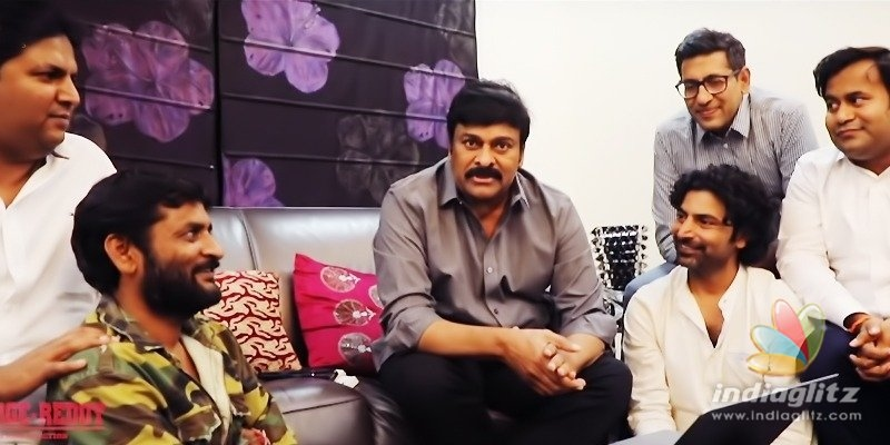Chiranjeevi speaks about George Reddy