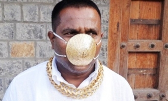 Rich Pune man spends Rs 2.89 lakh on gold mask