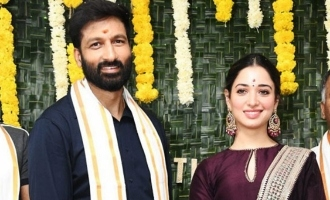 Gopichand's costliest movie goes on floors