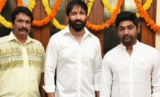 Gopichand's New Film Launched