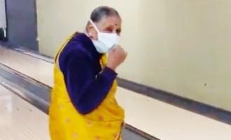 Viral: Grandma bowling a clean strike stuns Netizens