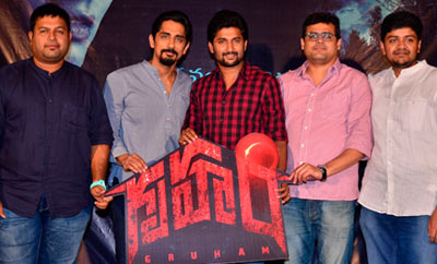 Siddarth's 'Gruham' Trailer Launch