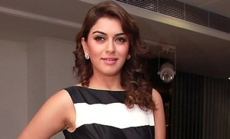 Hansika Motwani injures herself