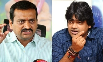 Twitter war between Bandla Ganesh and Harish Shankar