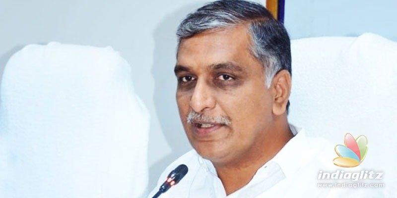 Harish Rao contracts coronavirus; Deets inside