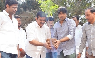 Director Harish Shankar and MLA Kranthi Kiran participated in Haritha Haaram