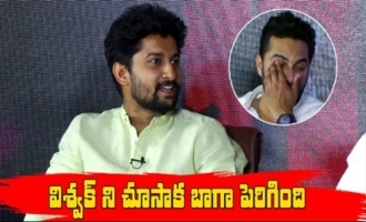 Nani Comments on Vishwak Sen