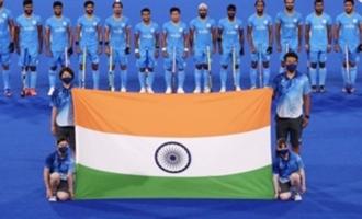 India's men's hockey team creates Olympic history