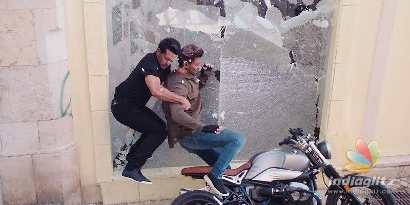 How Hrithik, Tiger pulled off a risky bike chase scene