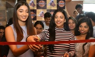 Husharu Heroines Launches Barbeque Restaurant at Banjara Hills