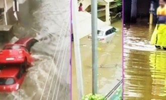 Scary rains in Hyderabad: Record rainfall causes mayhem all over