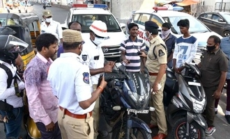 Hyd: Traffic police seize thousands of vehicles!