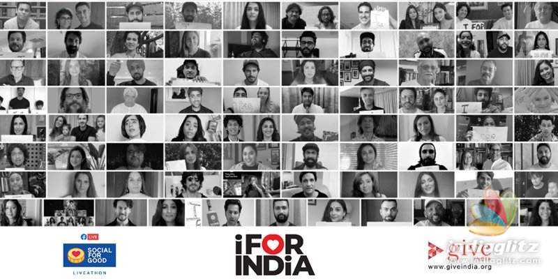 I For India concert by film stars raises Rs 52 Cr (counting)!
