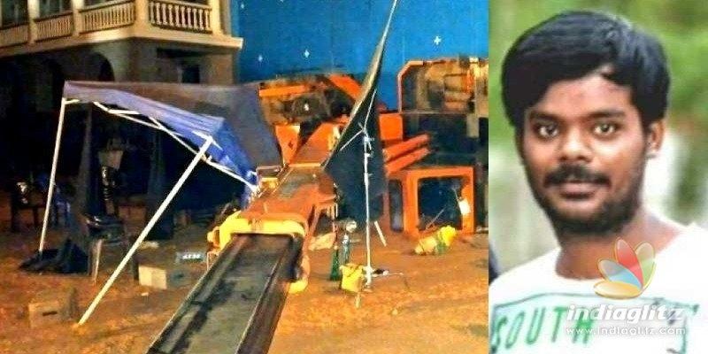 Tragedy on Indian-2 sets claims 3 lives; Kamal, Shankar & Kajal escape