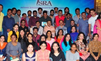 ISRA ( Indian Singers Rights Association) Press Meet
