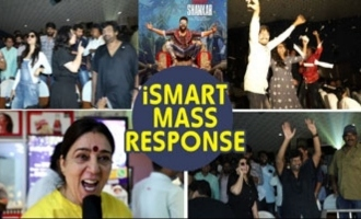 ISmart Shankar mass response @ RTC X Roads