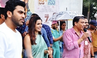 'Jaanu' Team At Raghu Engineering College, Vizag