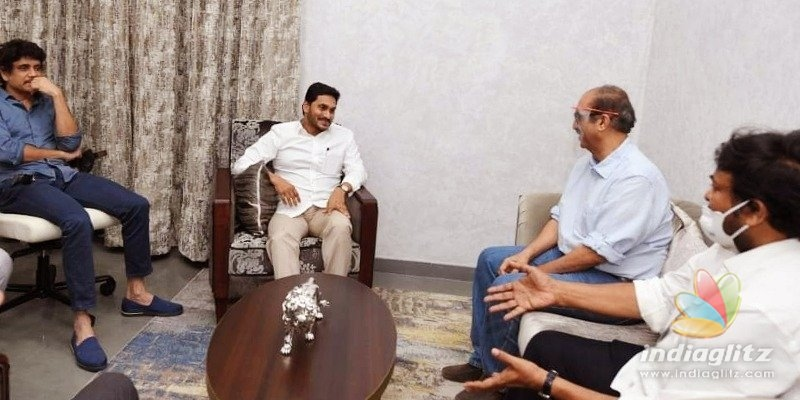 Jagan makes promises to Tollywood; Details inside