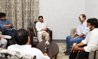 Tollywood biggies meet YS Jagan
